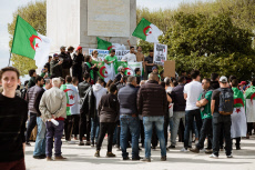 Montpellier: Anti-Bouteflika rally
