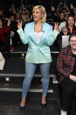 Bebe Rexha visit to the London College of Music, UK - 02 Apr 2019