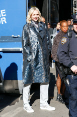Gwendoline Christie out and about, New York, USA - 03 Apr 2019
