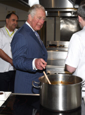 Prince Charles attends the opening of Waitrose & Partners Food Innovation Studio