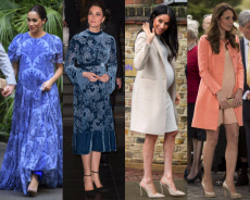 Royal Pregnancy Fashion Duel