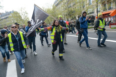 Paris: Act 22 Yellow Vests protest