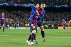 Barcelona v Manchester United, Champions League., Quarter-Final Leg 2 of 2 - 16 Apr 2019