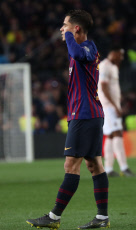 Barcelona v Manchester United, UEFA Champions League Quarter Final Second Leg, Football, Camp Nou, Barcelona, Spain - 16 Apr 2019
