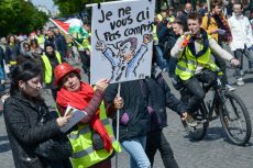 Paris: Act 24 Yellow Vests and CGT