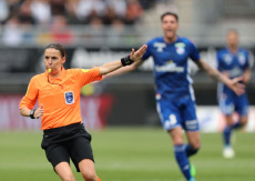Stéphanie Frappart 1st female referee