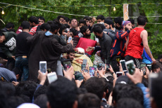 Funeral procession of Lateef Ahmed Dar in Pulwama, India - 03 May 2019