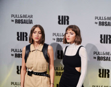 Rosalia presents her Pull and Bear fashion line in Madrid, Spain - 09 May 2019