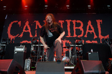 Cannibal Corpse in concert, The Coral Sky Amphitheatre, West Palm Beach, Florida, USA - 11 May 2019
