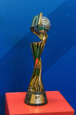 Paris Women's world cup 2019 trophy presentation