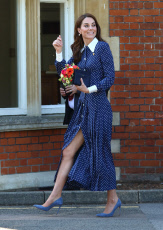 Duchess of Cambridge visits Bletchley Park, UK - 14 May 2019