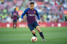 FC Barcelona v Getafe CF, La Liga, date 37. Football, Camp Nou Stadium, Barcelona, Spain - 12 May 2018