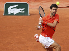 French Open tennis / men's 1st round / Djokovic VS Hurkacz