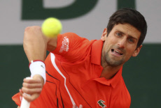 French Open tennis / DJOKOVIC VS LAAKSONEN