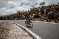 Team INEOS cycling team at their altitude training camp near Mt Teide, Tenerife - 23 May 2019