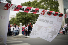 Hospital mergency on strike