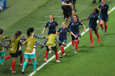 France Vs Norway - Women's World Cup soccer