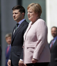 Germany Ukraine Merkel