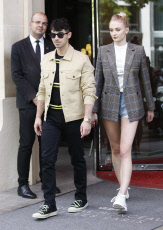 Joe Jonas and Sophie Turner out and about, Paris, France - 23 Jun 2019