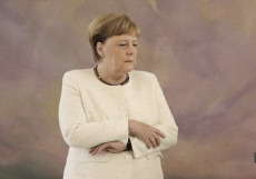 Angela Merkel et ses tremblements