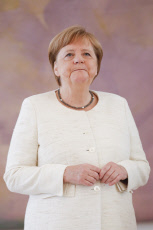 BERLIN Angela Merkel seen shaking uncontrollably for second time in nine days