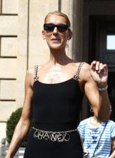 Celine Dion out and about, Paris, France - 27 Jun 2019