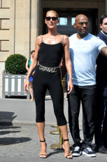 Celine Dion spotted in Paris