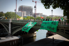 PARIS: Blocage Extinction Rebellion