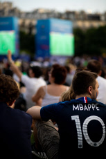 Fifa Fan zone : FRA v USA - Paris - France