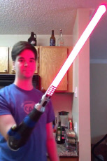 AMPUTEE LIGHTSABER ARM
