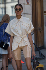 Street Style, Fall Winter 2019, Haute Couture Fashion Week, Paris, France - 03 Jul 2019