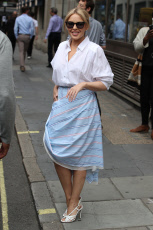 Kylie Minogue out and about, London, UK - 09 Jul 2019
