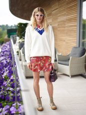 The Polo Ralph Lauren Suite, Wimbledon Tennis Championships, Day 9, The All England Lawn Tennis and Croquet Club, London, UK - 10 Jul 2019