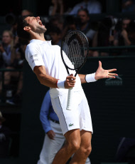 Wimbledon Championships 2019, Day Eleven, Mens Semi Finals, All England Lawn Tennis & Croquet Club, Church Rd, London, United Kingdom - 12th July 2019