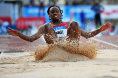 IAAF Diamond League, Women's Triple Jump, Louis II Stadium, Monaco - 11 Jul 2019