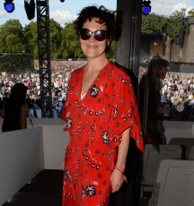 Teen Cancer America Suite at Bob Dylan and Neil Young concert, Hyde Park, London - 13 Jul 2019