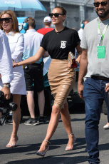 NY: Irina Shayk At E-Prix In Brooklyn