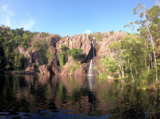 Wangi Falls in Litchfield National Park in the Northern Territory of Australia