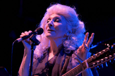 Judy Collins performs live at Wickham Festival in Hampshire, UK - 01 Aug 2019