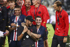 China Soccer PSG Rennes