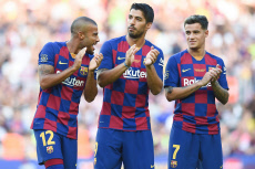 FC Barcelona v Arsenal FC, Joan Gamper Trophy 2019, Football, Camp Nou Stadium, Barcelona, Spain - 04 Aug 2019