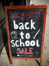 Back-to-School shopping in New York