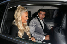 Molly Mae and Tommy Fury out and about, London, UK - 07 Aug 2019