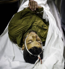 Palestinian Fighter shot Dead by Israeli Soldiers in Gaza - 10 Aug 2019