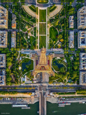 Aerial Views Of Paris