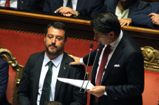 Italy: Senate speech of the Premier just before his resignation