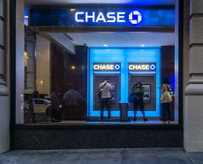 NY: JPMorgan Chase bank in New York