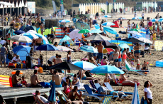 Seasonal Weather, Bournemouth, UK - 25 Aug 2019 - 25 Aug 2019