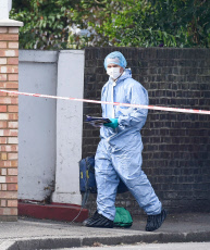Stabbing in Southall, London, UK - 25 Aug 2019