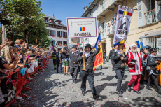 International meeting of the chimney sweeps in Santa Maria Maggiore, Piedmont, Italy